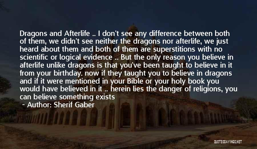 Lies We Believe Quotes By Sherif Gaber