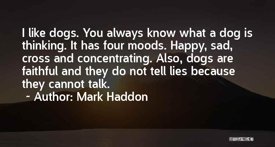 Lies You Tell Quotes By Mark Haddon