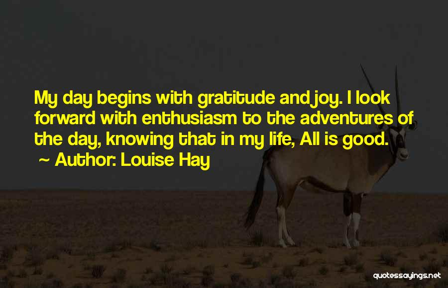 Life Adventures Quotes By Louise Hay