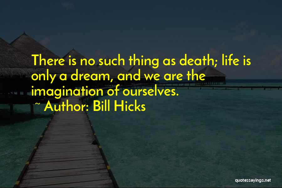 Life And Death Quotes By Bill Hicks