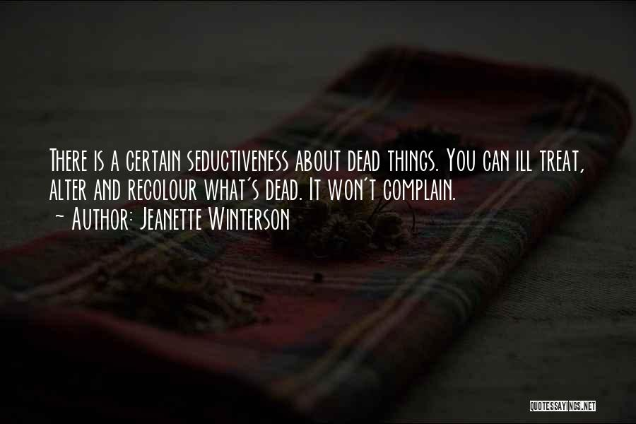 Life And Death Quotes By Jeanette Winterson