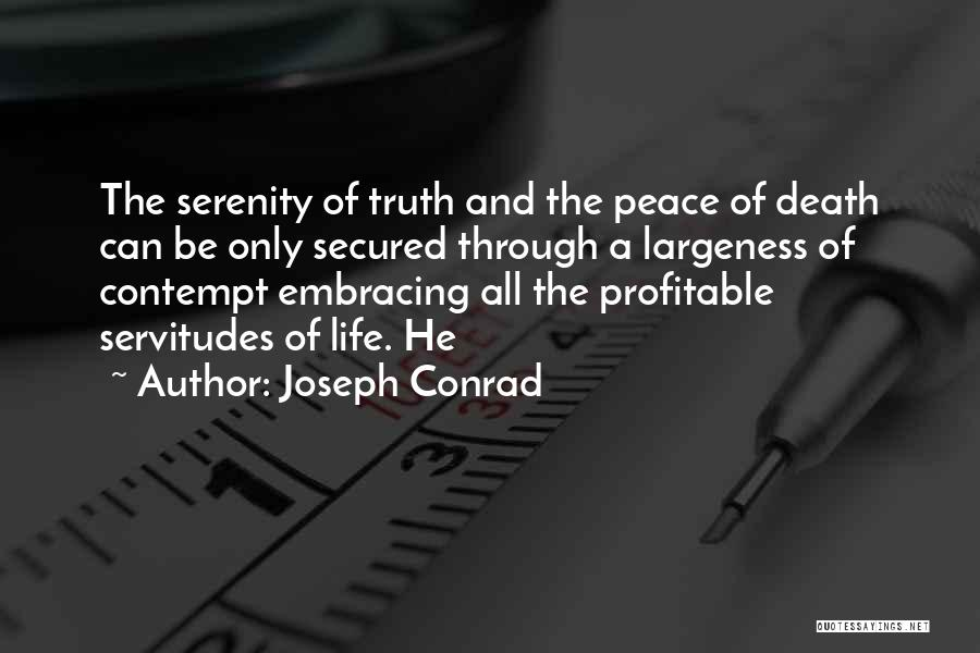 Life And Death Quotes By Joseph Conrad