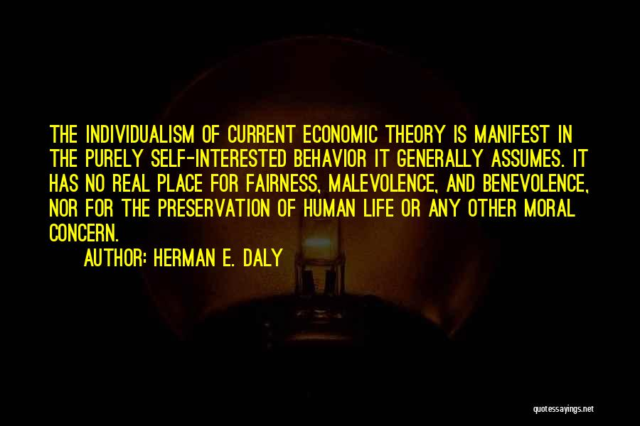Life And Economics Quotes By Herman E. Daly