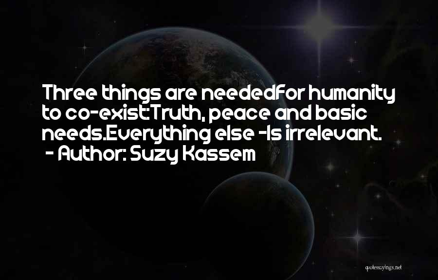 Life And Economics Quotes By Suzy Kassem