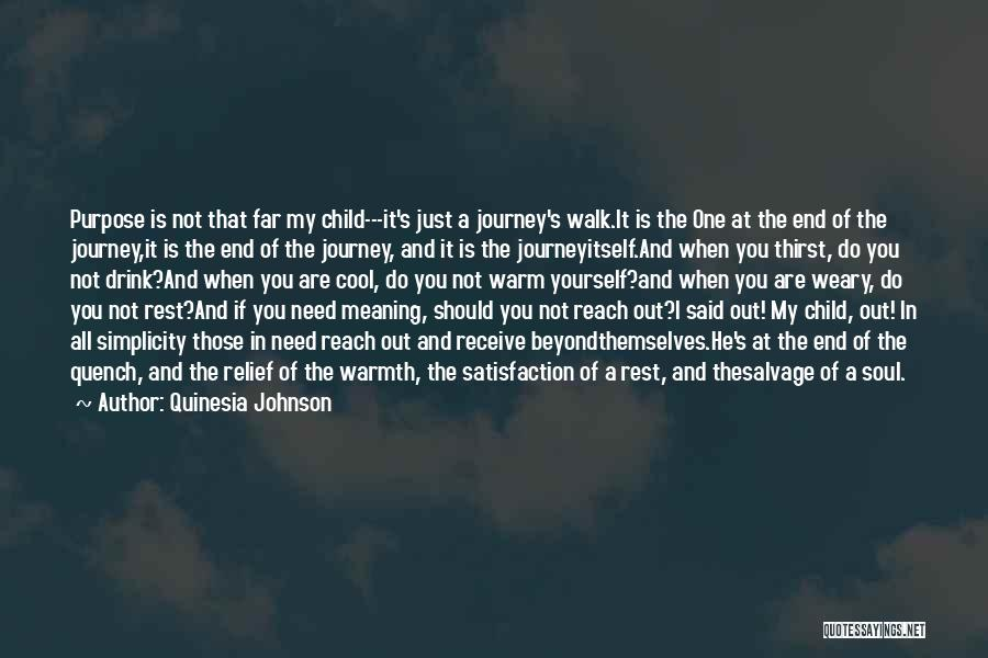 Life And It's Meaning Quotes By Quinesia Johnson