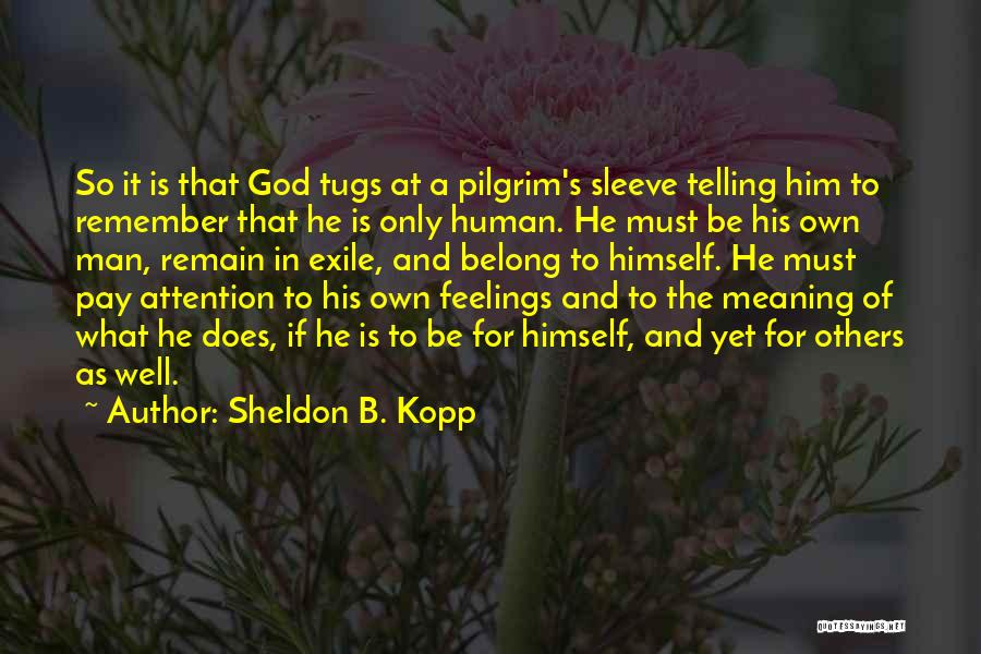 Life And It's Meaning Quotes By Sheldon B. Kopp