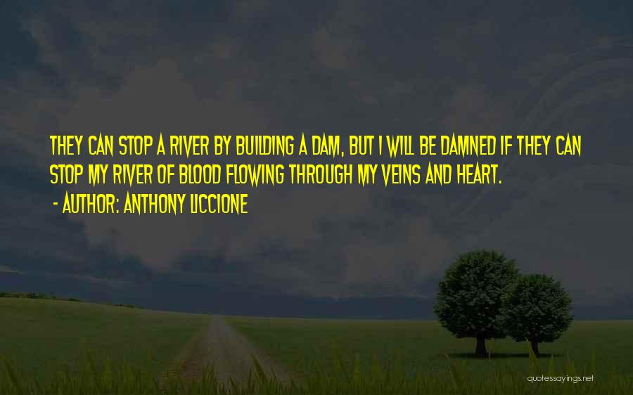 Life And Moving On Forward Quotes By Anthony Liccione