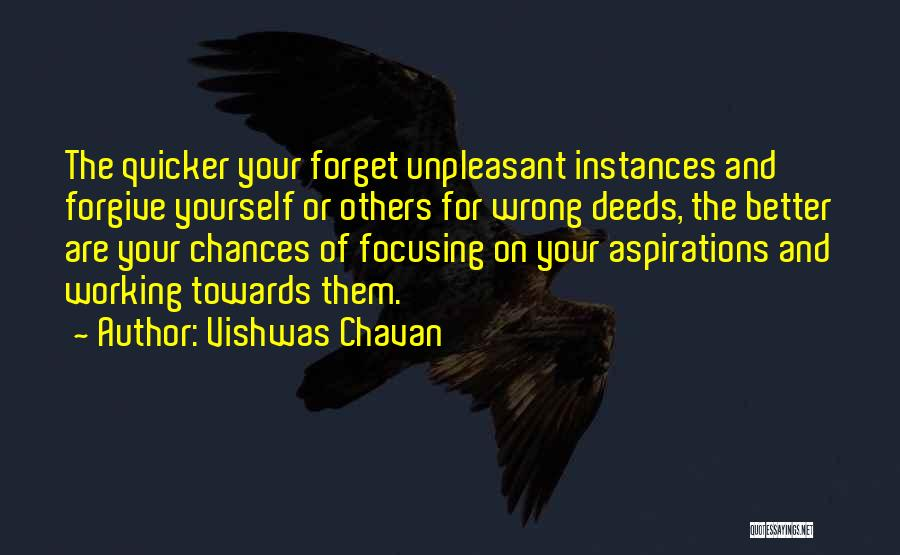 Life And Moving On Forward Quotes By Vishwas Chavan