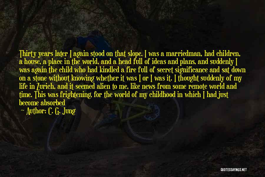 Life And Not Knowing The Future Quotes By C. G. Jung