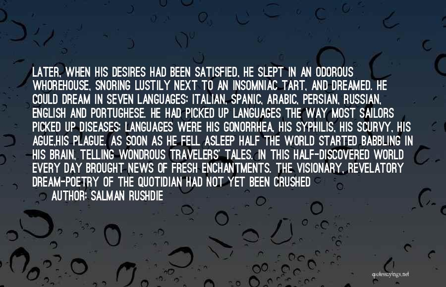 Life Arabic Quotes By Salman Rushdie