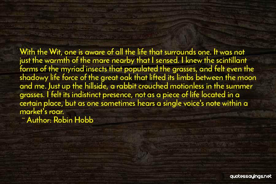 Life As We Knew It Quotes By Robin Hobb