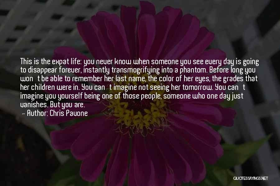 Life Before Her Eyes Quotes By Chris Pavone