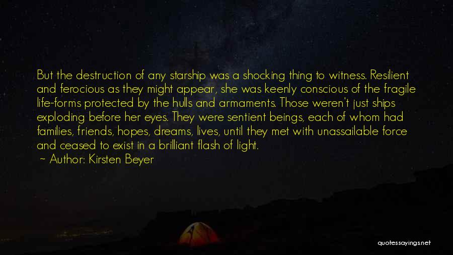Life Before Her Eyes Quotes By Kirsten Beyer