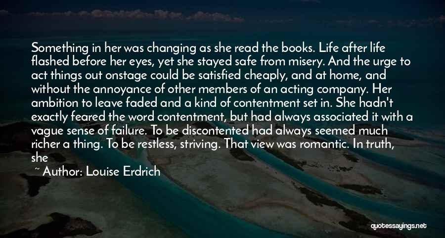 Life Before Her Eyes Quotes By Louise Erdrich