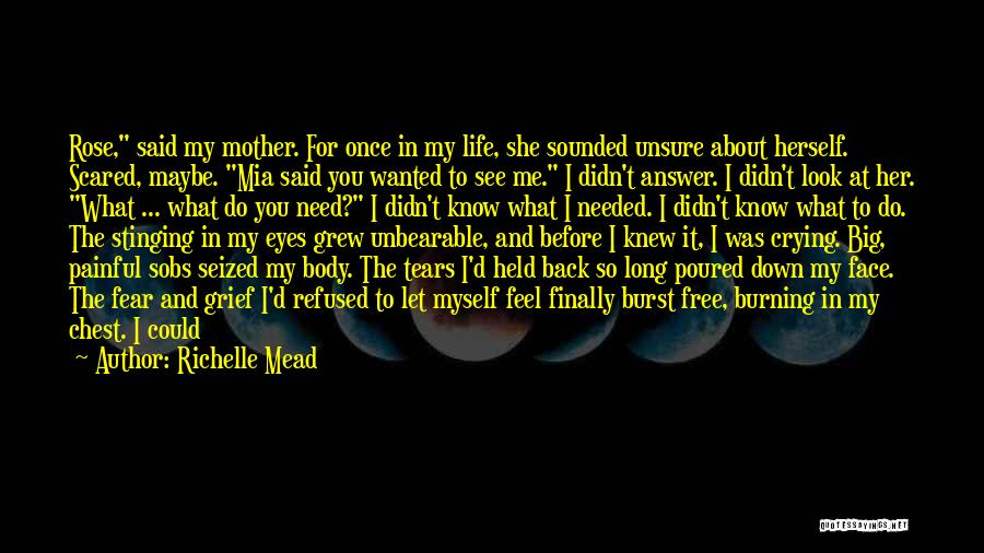 Life Before Her Eyes Quotes By Richelle Mead