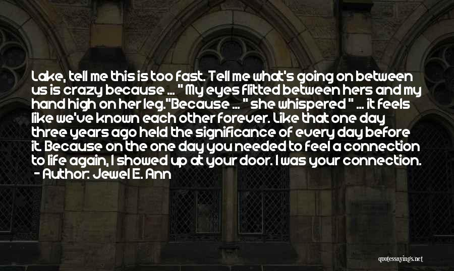 Life Before Your Eyes Quotes By Jewel E. Ann