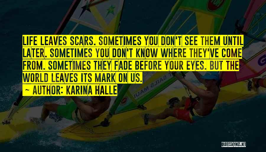 Life Before Your Eyes Quotes By Karina Halle