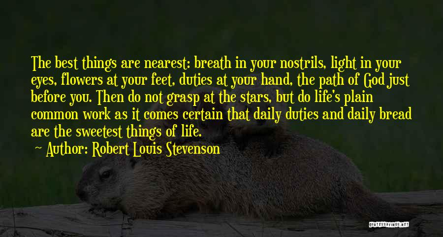 Life Before Your Eyes Quotes By Robert Louis Stevenson