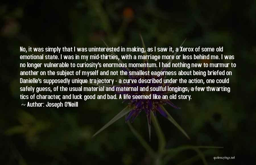 Life Being Good And Bad Quotes By Joseph O'Neill