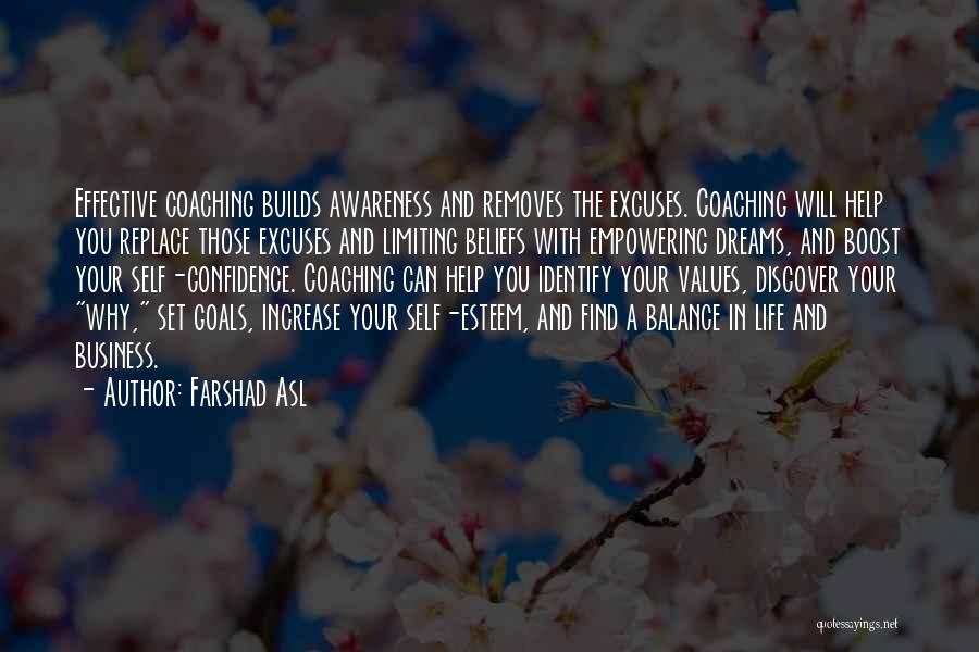 Life Boost Quotes By Farshad Asl