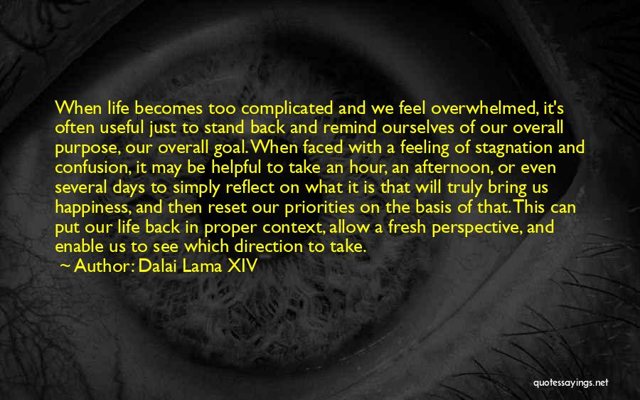 Life Can Be Complicated Quotes By Dalai Lama XIV