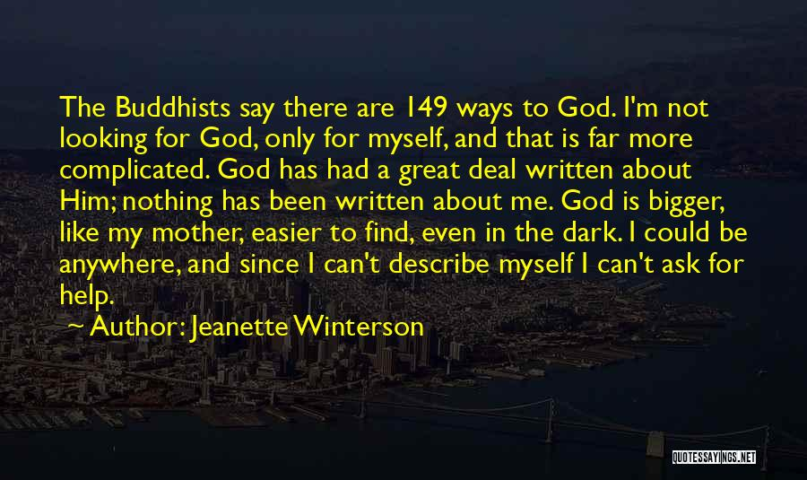 Life Can Be Complicated Quotes By Jeanette Winterson