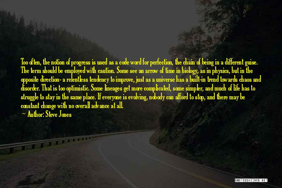 Life Can Be Complicated Quotes By Steve Jones