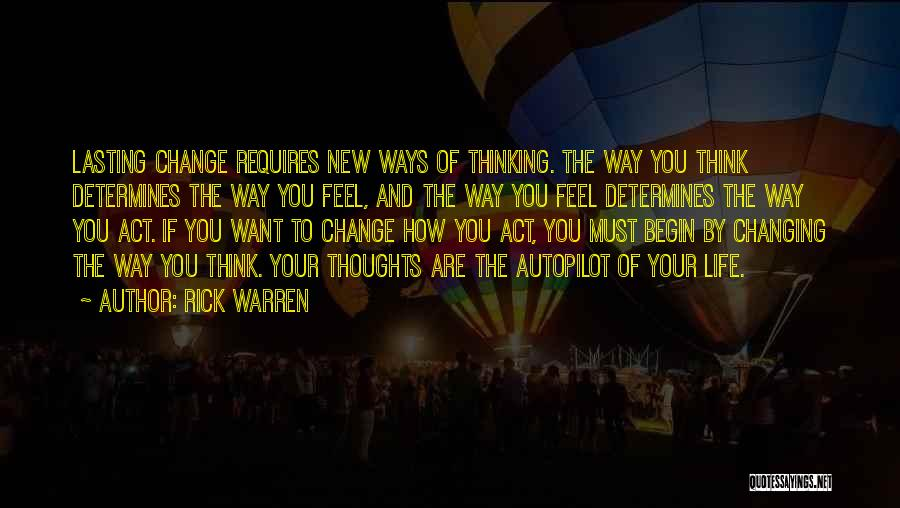 Life Changing For The The Best Quotes By Rick Warren