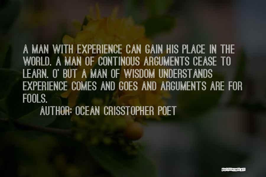 Life Comes And Goes Quotes By Ocean Crisstopher Poet