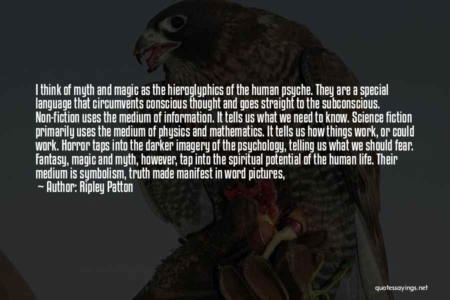 Life Comes And Goes Quotes By Ripley Patton
