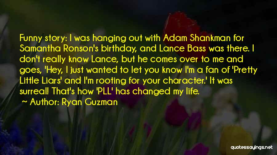 Life Comes And Goes Quotes By Ryan Guzman