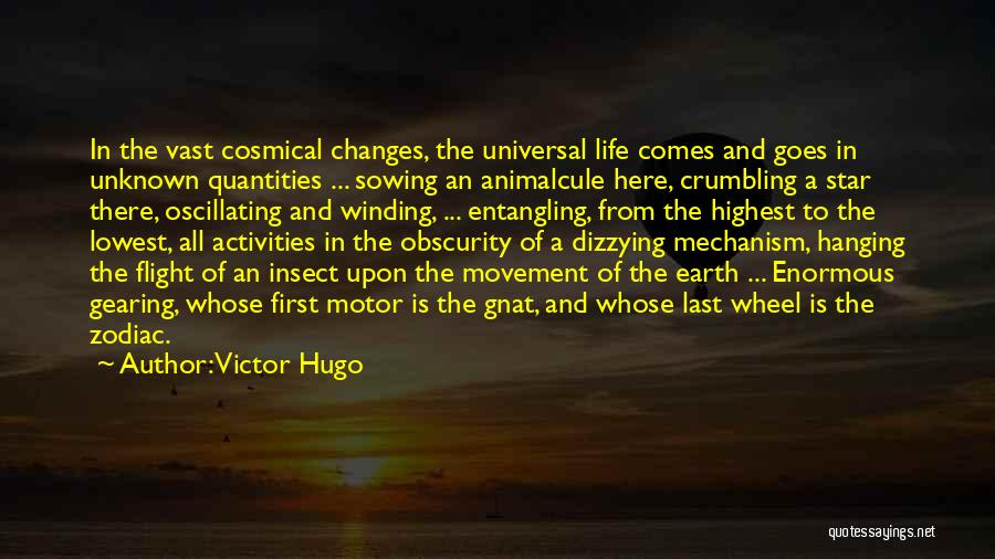 Life Comes And Goes Quotes By Victor Hugo