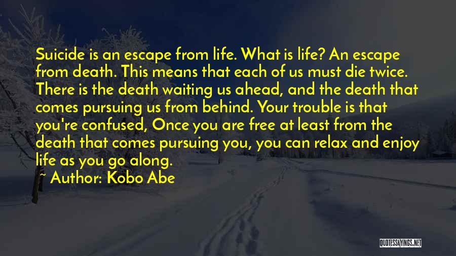 Life Comes Once Quotes By Kobo Abe