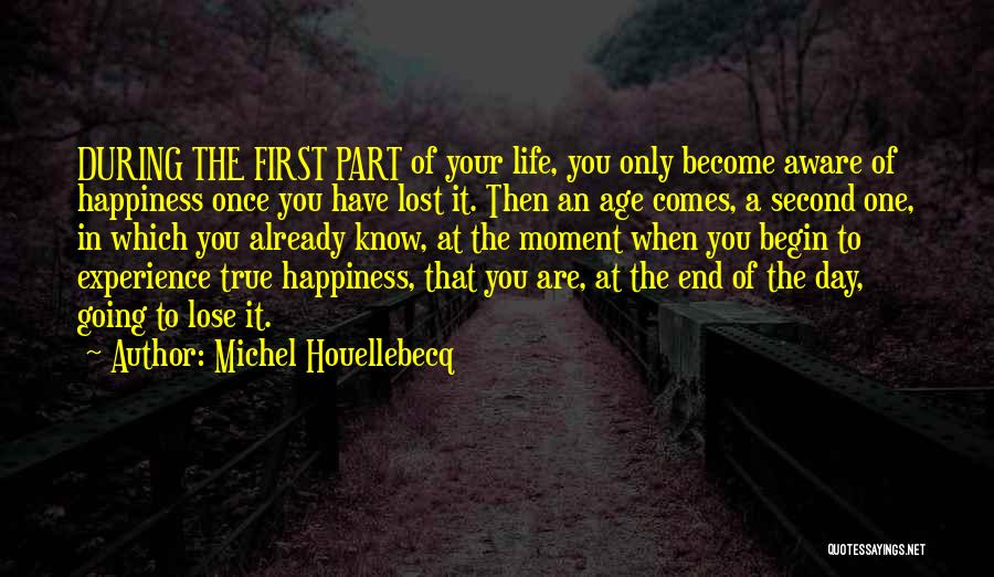 Life Comes Once Quotes By Michel Houellebecq
