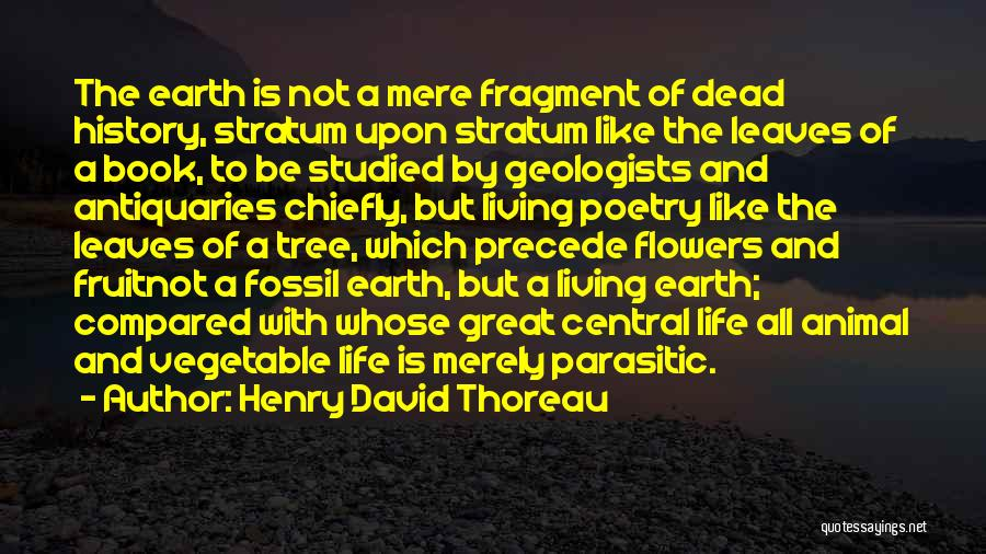 Life Compared To Flowers Quotes By Henry David Thoreau