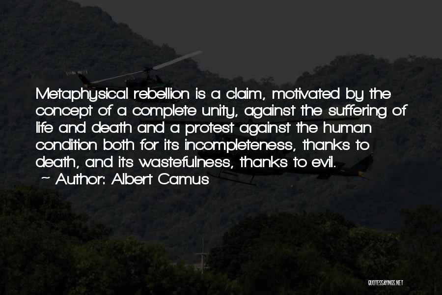 Life Concept Quotes By Albert Camus