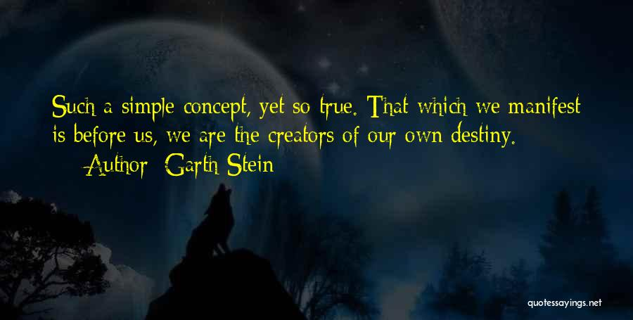 Life Concept Quotes By Garth Stein