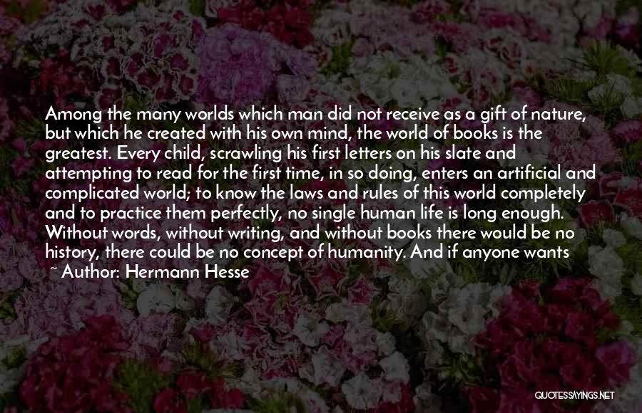 Life Concept Quotes By Hermann Hesse