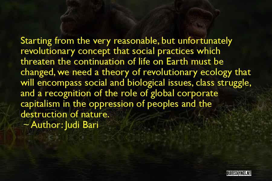 Life Concept Quotes By Judi Bari