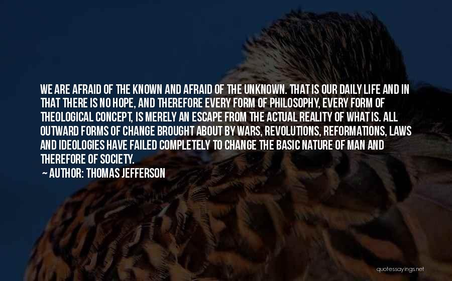 Life Concept Quotes By Thomas Jefferson