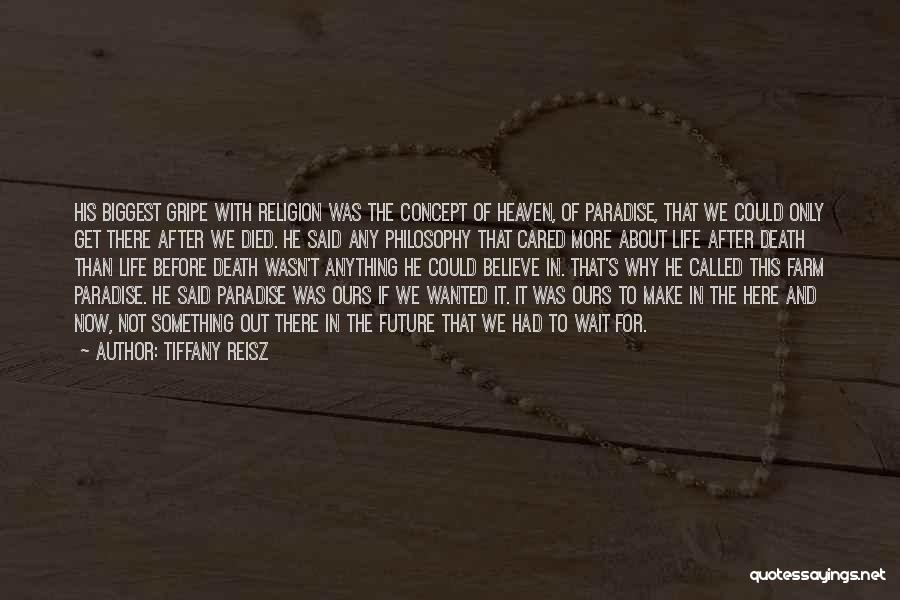 Life Concept Quotes By Tiffany Reisz