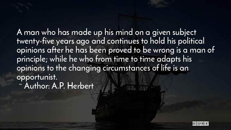 Life Continues Quotes By A.P. Herbert