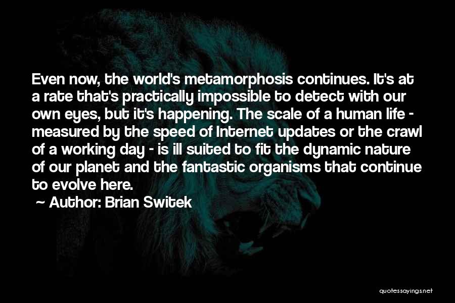 Life Continues Quotes By Brian Switek