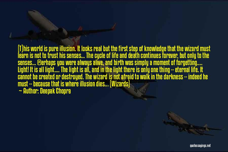 Life Continues Quotes By Deepak Chopra