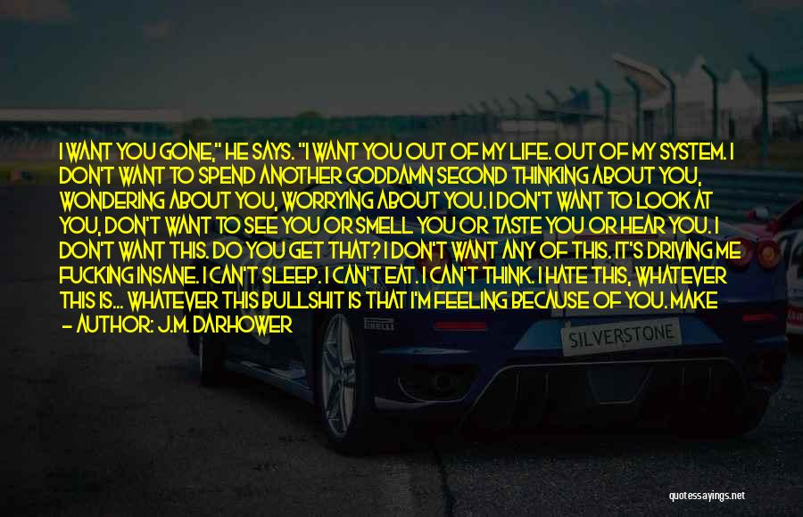 Life Continues Quotes By J.M. Darhower