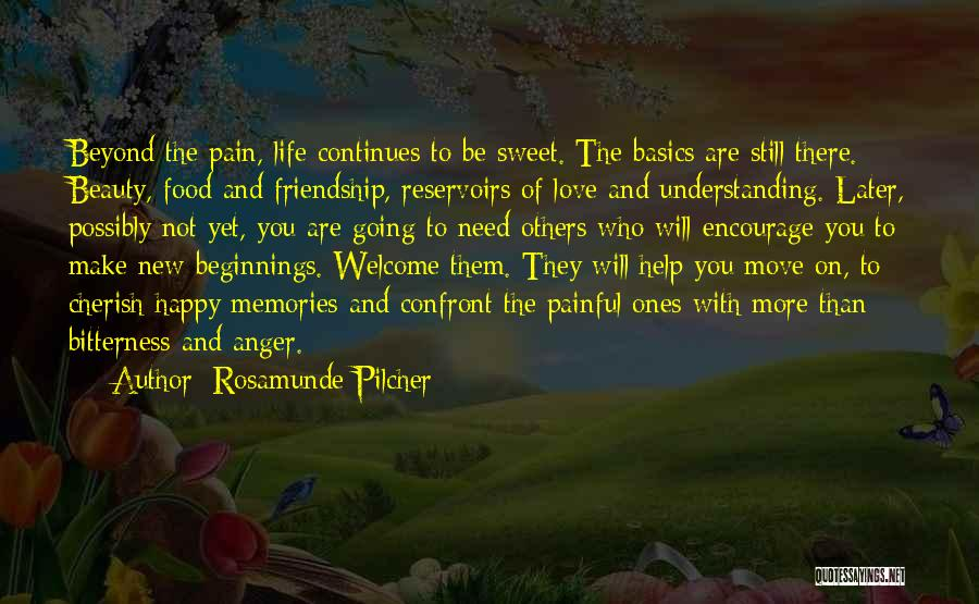 Life Continues Quotes By Rosamunde Pilcher