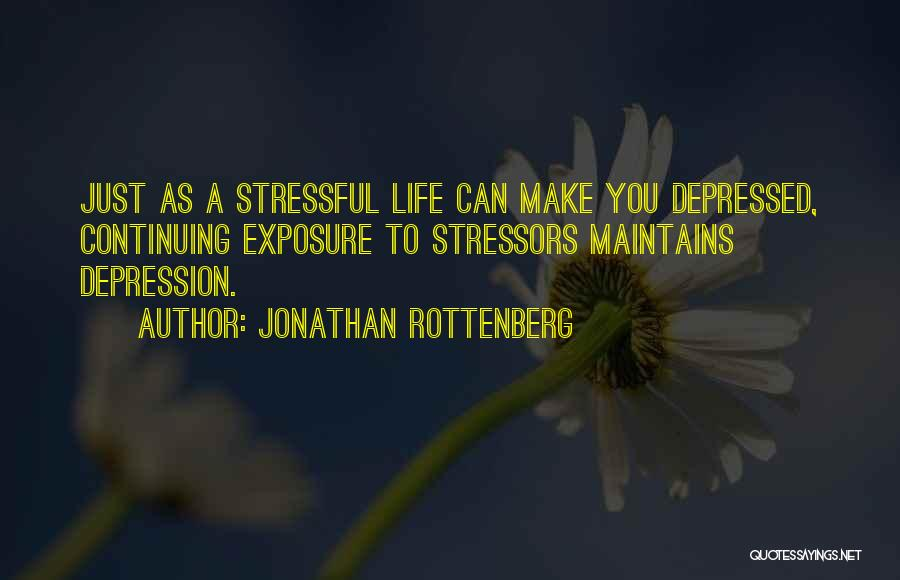 Life Continuing Quotes By Jonathan Rottenberg