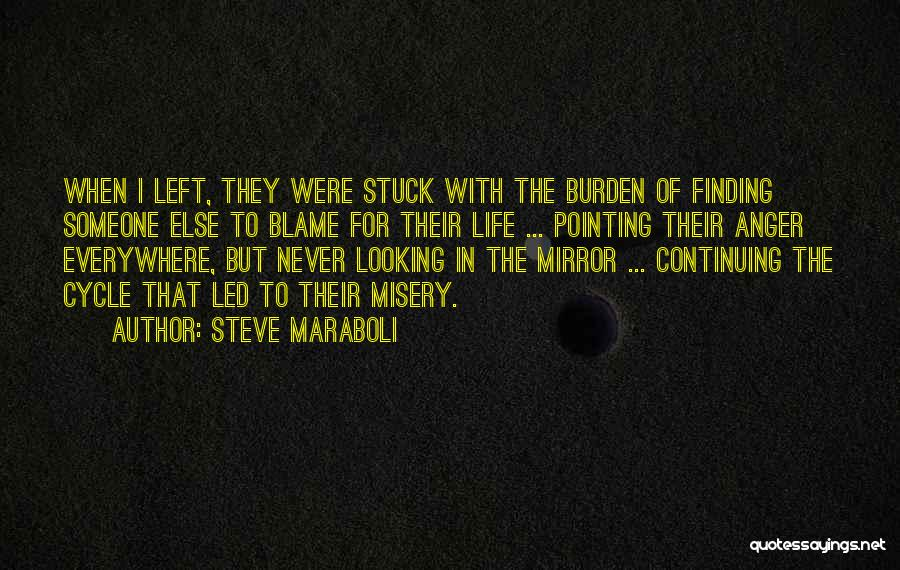 Life Continuing Quotes By Steve Maraboli