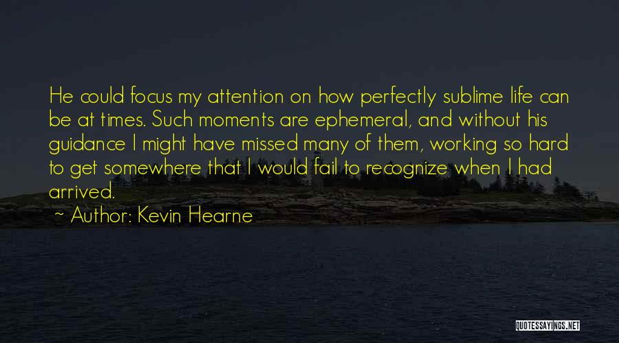 Life Could Be Hard Quotes By Kevin Hearne