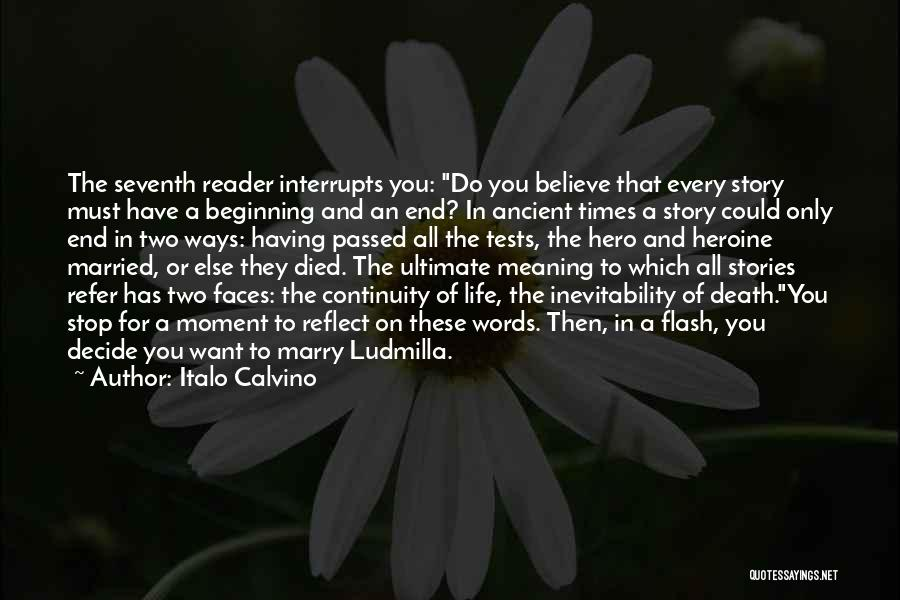 Life Death And Meaning Quotes By Italo Calvino